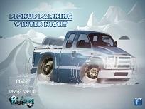 Camioneta de Parcat Iarna