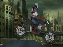 Capitanul America cu Motocicleta