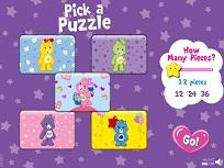 Care Bears Petrecerea Puzzle