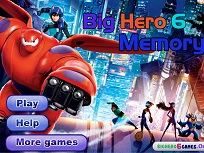Cei 6 Super Eroi Joc de Memorie