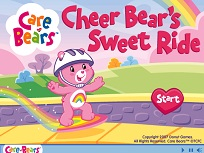 Cheer Bear cu Skateboardul