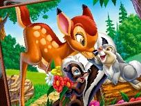 Coloreaza cu Caprioara Bambi