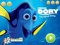 Coloreaza cu Dory