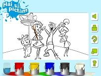 Coloreaza cu Familia Jetson