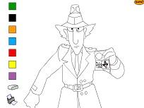Coloreaza cu Inspectorul Gadget