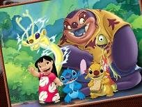 Coloreaza cu Lilo si Stitch