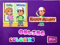 Coloreaza cu Manny Iscusitul
