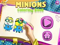 Coloreaza cu Minioni