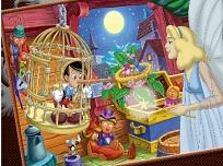 Coloreaza cu Pinocchio