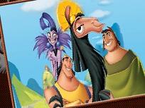 Coloreaza cu Regele Kuzco