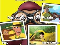 Puzzle Curiosul George