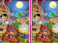 Diferente cu Pinocchio
