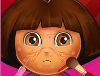 Dora Infectie pe Fata