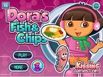 Prepara Peste si Cartofi cu Dora