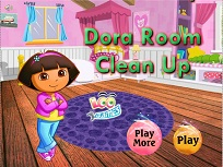 Dora si Curatenia din Camera