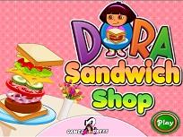 Dora si Magazinul de Sandviciuri