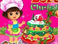 Dora si Tortul de Craciun
