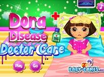Dora Bolnava la Doctor