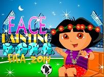 Dora Pictura Pe Fata  Fifa 2014
