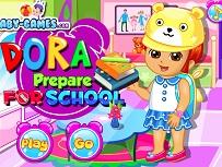 Dora Se Pregateste de Scoala