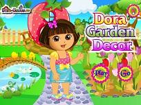 Dora Decoreaza Gradina