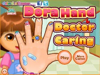 Dora Lovita la Mana