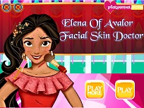 Elena din Avalor Tratament Facial