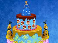 Elsa Decoreaza Tortul