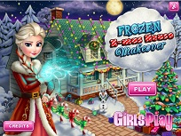 Elsa Impodobeste Casa de Craciun
