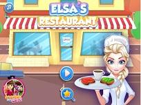 Elsa Pregateste Micul Dejun