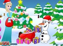 Elsa si Olaf Impart Cadouri