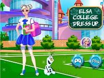 Elsa la Colegiu de Imbracat