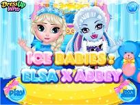 Elsa si Abbey de Ingrijit