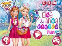 Elsa si Anna Distractie de Paste
