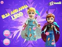 Elsa si Anna Lego