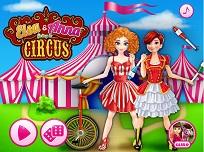 Elsa si Anna la Circ