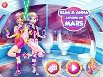 Elsa si Anna pe Marte