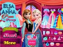 Elsa si Anna Pregatiri de Bal