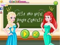 Elsa si Ariel Concurs la Bal