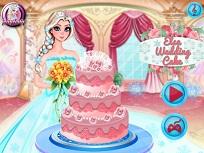 Elsa si Frumosul Tort de Nunta