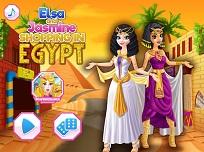 Elsa si Jasmine in Egipt