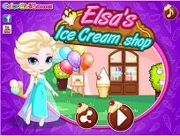 Elsa si Magazinul de Inghetata