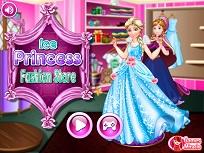 Elsa si Anna la Magazinul de Haine