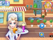 Elsa si Micul Dejun la Restaurant 2