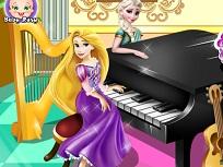 Elsa si Rapunzel Concursul de Pian