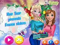 Elsa si Anna Cadouri de Anul Nou