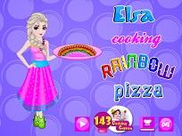 Elsa si Pizza Curcubeu