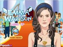 Emma Watson la Machiaj