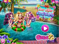 Ever After High Petrecere la Piscina