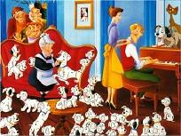 Familia Dalmatienilor Puzzle